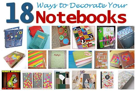 Decorating Notebooks For School by Notebook Cover Ideas Gallery