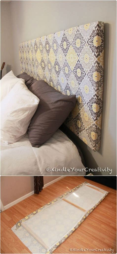 Diy Headboard Fabric Diy Headboards 40 Cheap And Easy Diy Headboard Ideas I Crafty