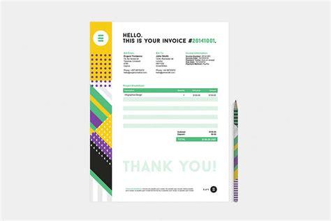 modelos de facturas 2015 50 dise 241 os de facturas creativas para inspirarse