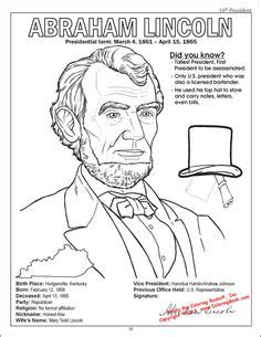 lincoln page of abraham lincoln history coloring pages 054 home