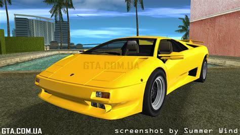 Lamborghini Diablo Vttt Lamborghini Diablo Vttt Quot Black Revel Quot для Gta Vice City