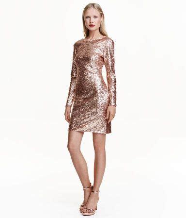 party jurken c a jurk met pailletten goudkleurig dames h m nl feest