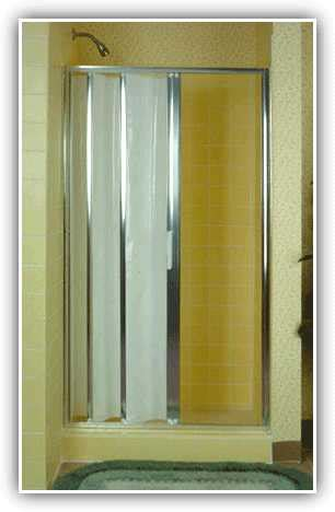 Accordion Bathroom Door by Bifold Bathroom Door Accordion Folding Shower Doors