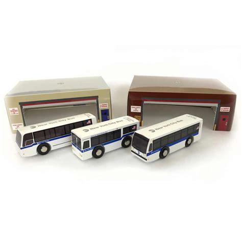 nyc mta wooden bus set