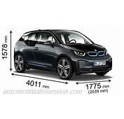 Dimensioni Di Auto BMW Con Lunghezza Larghezza E Altezza