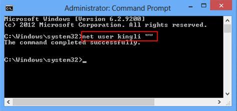 windows 8 reset password net user how to login windows 8 without password