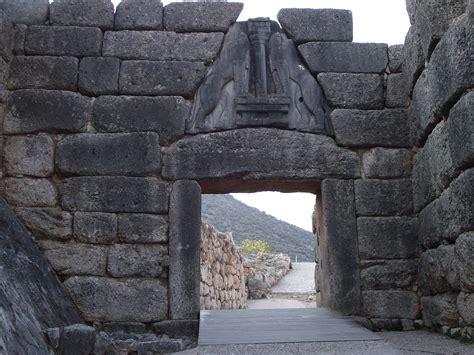 la porta dei leoni micene la porta dei leoni viaggi vacanze e turismo