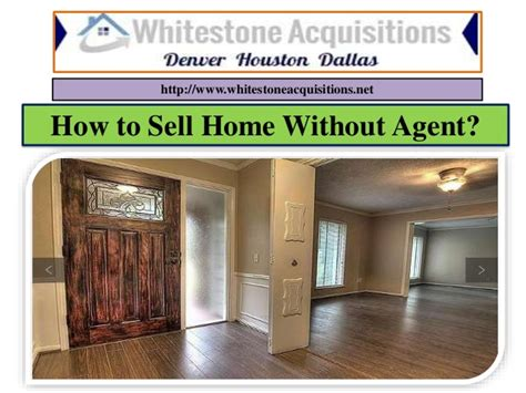How To Sell Home Without Agent