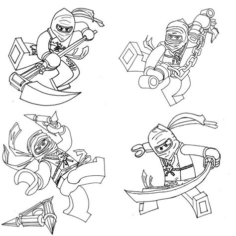 ninjago coloring pages kai az coloring pages