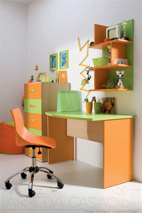 scrivania per bimbi scrivania sedia e cassettiera cameretta bambini valentini