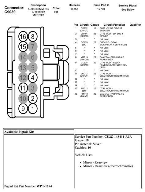 2013 rear view mirror wiring - Ford F150 Forum - Community