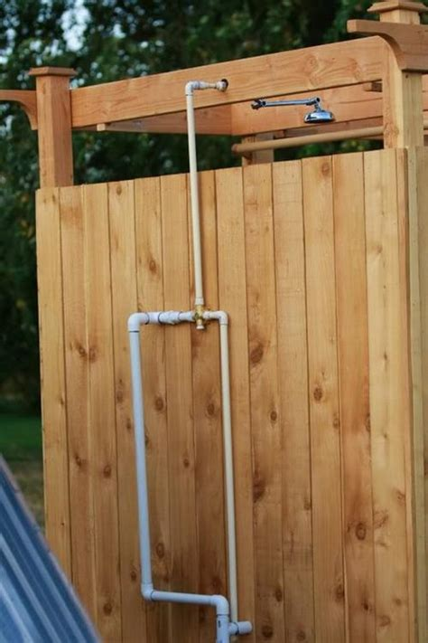 how to build an outdoor bathroom 10 diy outdoor pallet shower ideas pallets designs