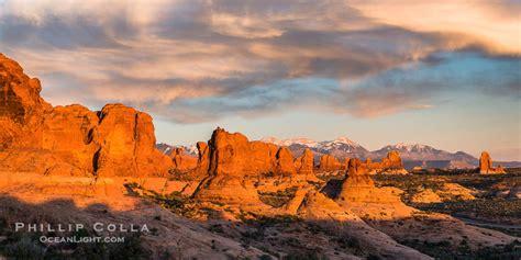 Garden Of The Gods Utah Sunset The Garden Of The Gods Arches National Park
