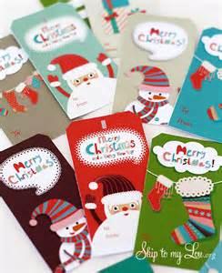 free printable christmas gift tags skip to my lou
