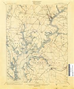 historical maps of maryland maryland historical topographic maps perry casta 241 eda map