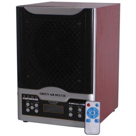 green air purifiers green air deluxe 3 plate hepa and carbon filter alpine air purifier ozone