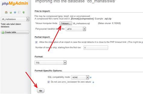 cara membuat invoice ekspor cara mudah ekspor dan impor database mysql struktur web