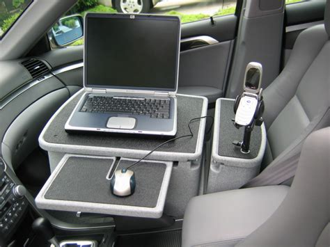 Working From Your Car Is Tough Stuff For People Who Car Office Desk