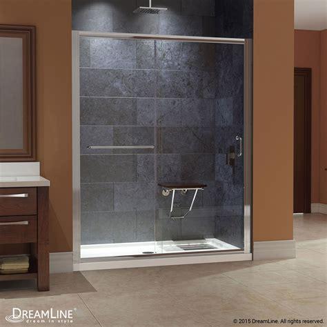 Infinity Shower Doors Bath Authority Dreamline Infinity Z Frameless Sliding