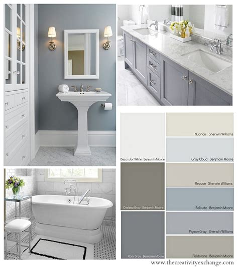 Colors For Bathrooms Walls by Choosing Bathroom Paint Colors For Walls And Cabinets