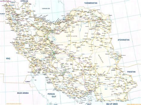 large map large detailed road map of iran iran large detailed road