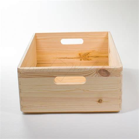 Diy Wooden Storage Box White stackable wooden storage box 40 x 30 x 15 cm bespoke