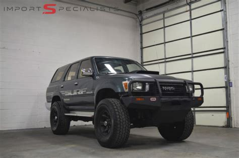 Toyota 4runner Diesel 1990 Toyota 4runner Hilux Surf Turbo Diesel For Sale
