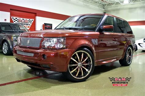 Standard Garage Size 2006 land rover range rover sport supercharged stock