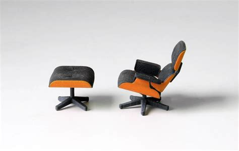 3d Printed Eames Lounge Chair 3d Printed Version Of The Iconic Eames Chair Priced 25 Freshome