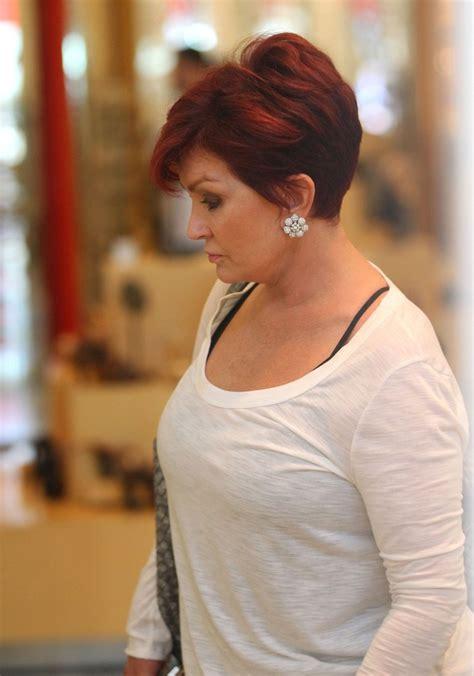 what does sharon ozbournes hair look like in the back sharon osbourne diamond studs sharon osbourne looks