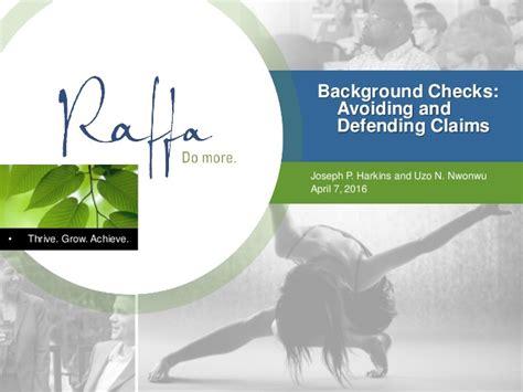 Cb Background Check Background Checks Avoiding Defending Claims