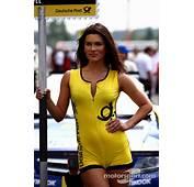 Grid Girl Of Gary Paffett Mercedes AMG DTM Team HWA
