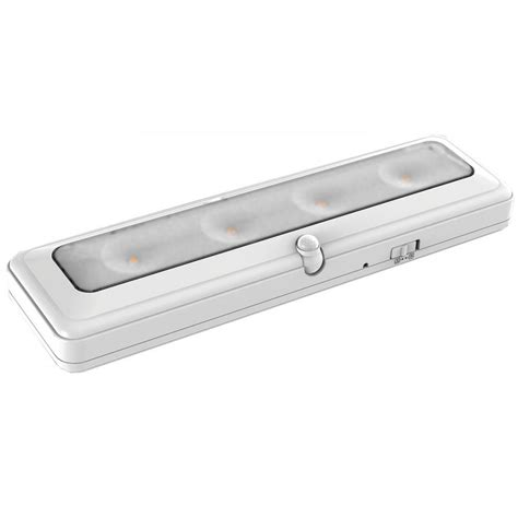 led white cabinet light brrc124m the home depot