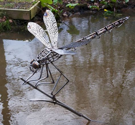 backyard metal art 17 of 2017 s best dragonfly yard art ideas on pinterest
