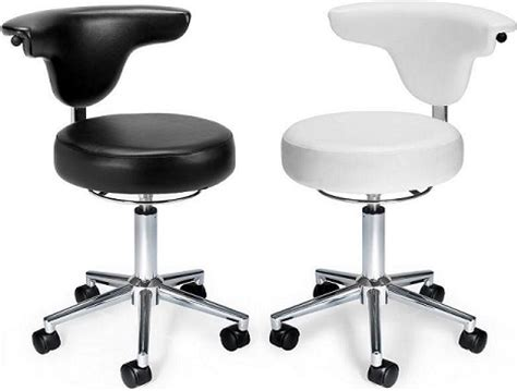 Doctors Stool With Back by Adjustable Examination Stool