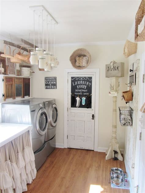 Laundry Room Decorating 25 Best Vintage Laundry Room Decor Ideas And Designs For 2018