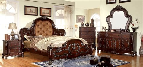 traditional bedroom furniture made in usa download page castlewood 4 piece platform bedroom set in rich cherry