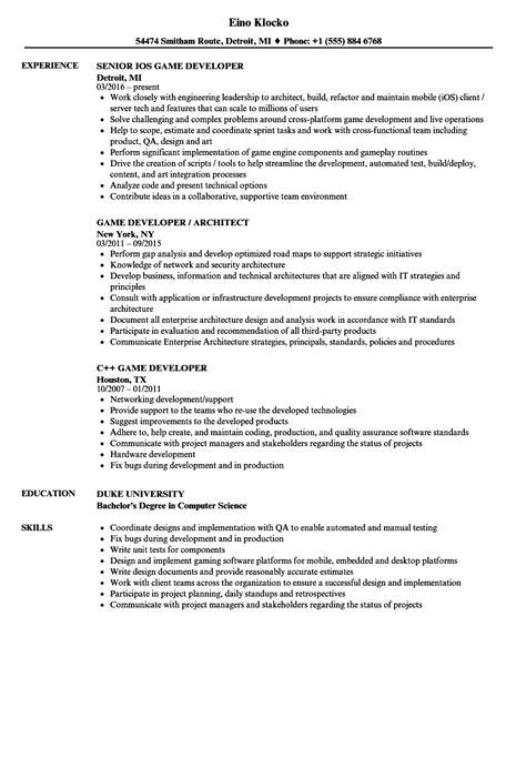Developer Resume by Developer Resume Talktomartyb