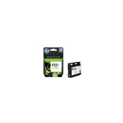 Cartridge Hp 933xl Yellow hp 933xl yellow officejet ink cartridge