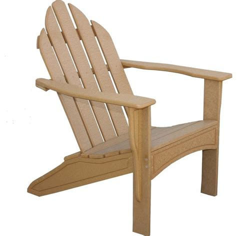 eagle one adirondack recycled plastic patio chair modern