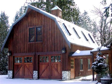 barn style garage 25 best ideas about gambrel roof on