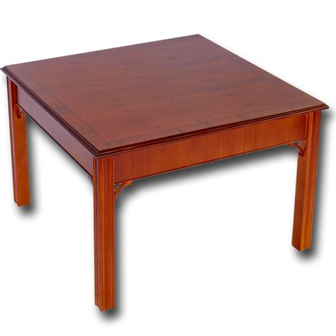 Reproduction Chippendale Coffee Table In Yew Mahogany Oak Reproduction Coffee Tables