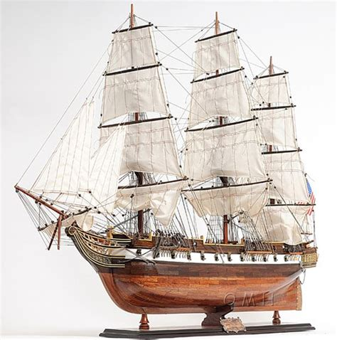 Wooden Warships Images - uss constellation frigate wooden ship model 38