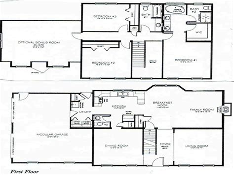 2 Bedroom 2 Story House Plans by 2 Story 3 Bedroom House Plans Vdara Two Bedroom Loft 3