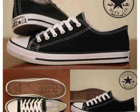 Sepatu All Converse Original Asli Hitam model sepatu converse tipe sepatu all ori indonesia