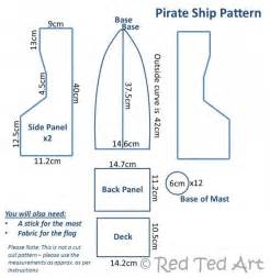 cardboard model boat template how to make a diy pirate ship ted s