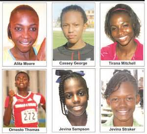 Jevina Top carifta medallists among top athletes on show kaieteur news