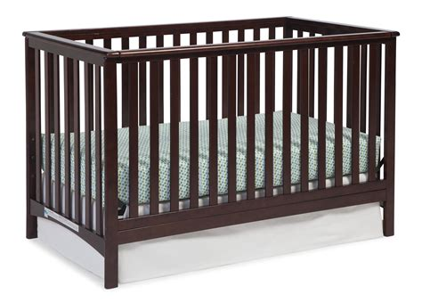 Convertible Crib Parts Storkcraft Hillcrest 4 In 1 Convertible Crib Espresso