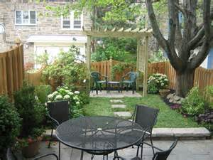 Landscape Design For Small Spaces Small Space Transform Traditional Style With Pergola