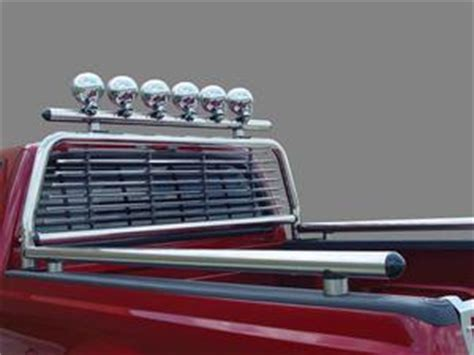 Stainless Steel Headache Racks For by Truck Bed Rails By Go Industries